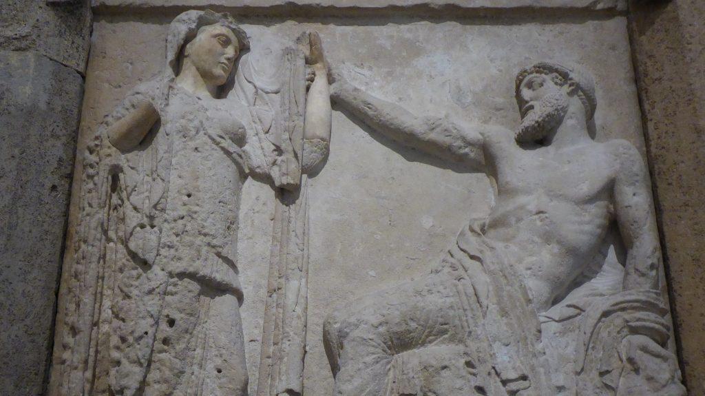 Jupiter Zeus & Hera Museo Salinas Palermo