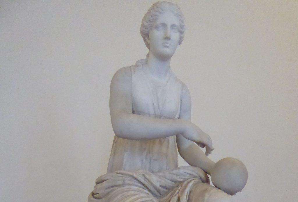 Urania, muse de l'astronomie et astrologie, Museo Palazzo Altemps, Roma