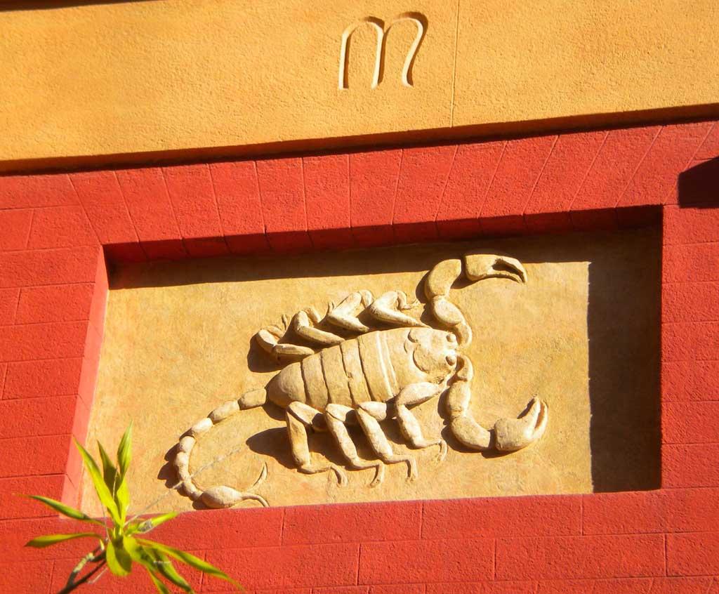 Signe du Scorpion, Jardin Botanique de Palerme, Sicile